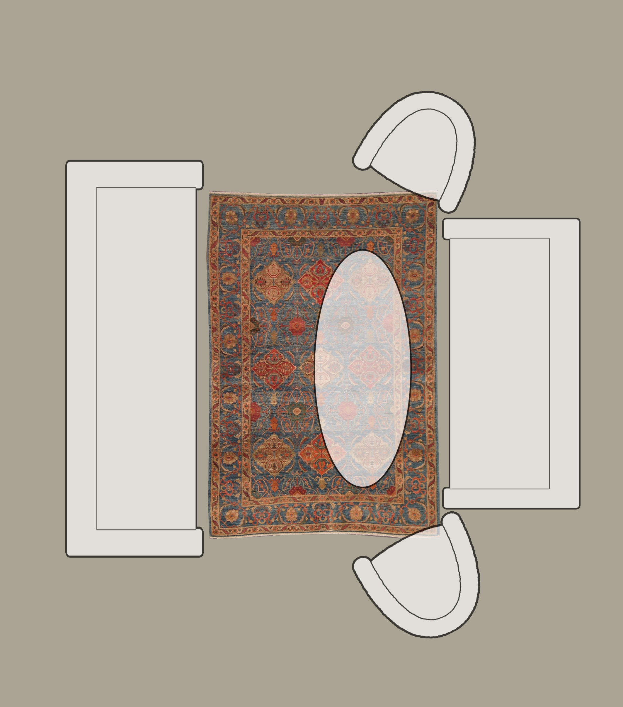 Rug sizes for living room home design plan for What is the average size of a living room rug